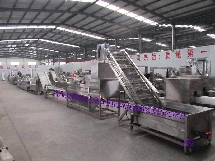 速凍薯條生産線