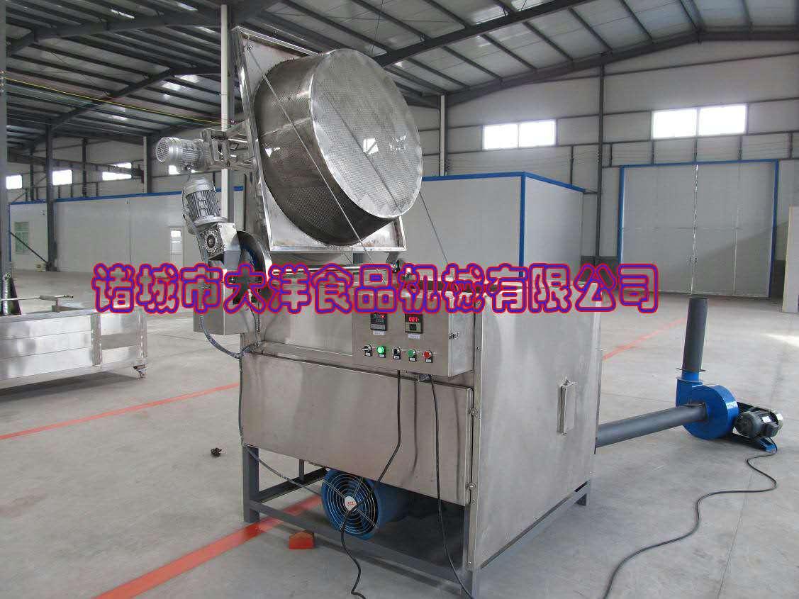 燃煤型自動出料攪拌油炸機